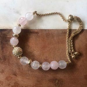 LOFT pink and gold bracelet